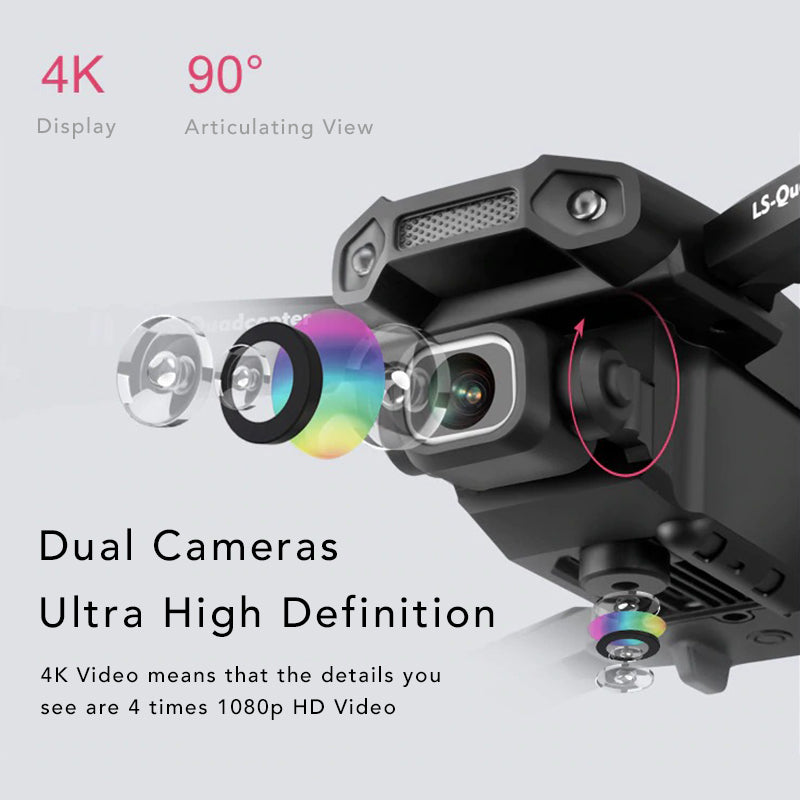 Dual Camera 4k Tactical Drone Ultra High Definition 4k