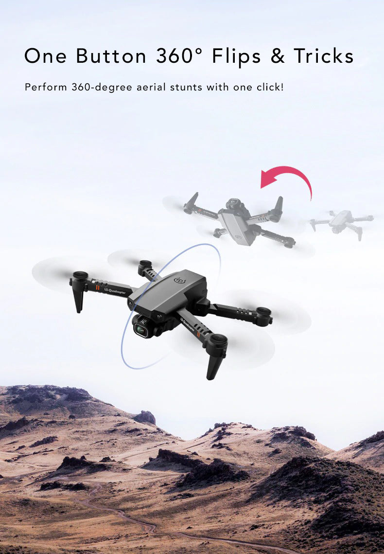 Dual Camera 4k Tactical Drone One Button 360 Flips Tricks Stunts