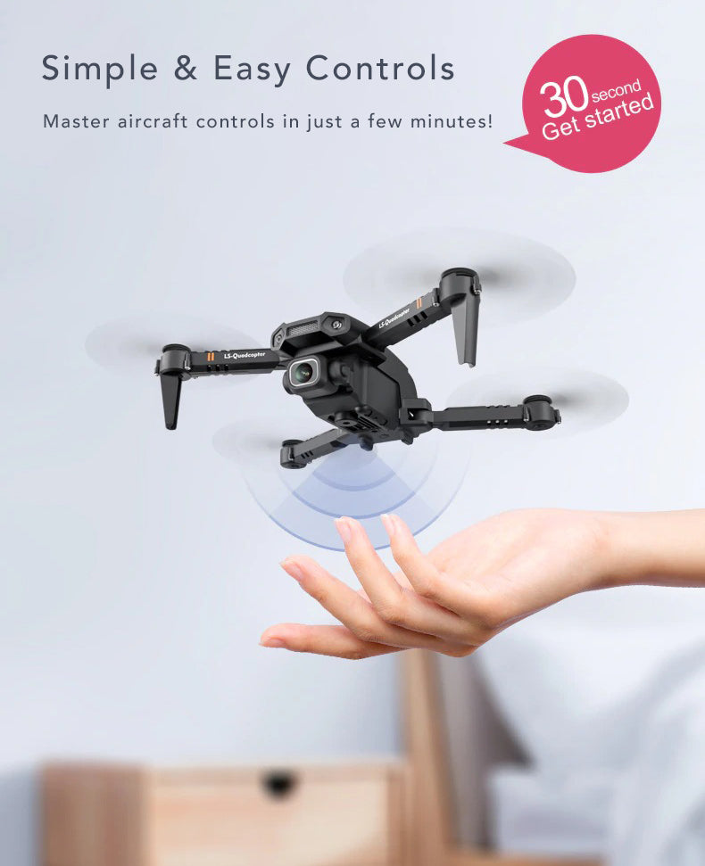 Dual Camera 4k Tactical Drone Simple Easy Controls