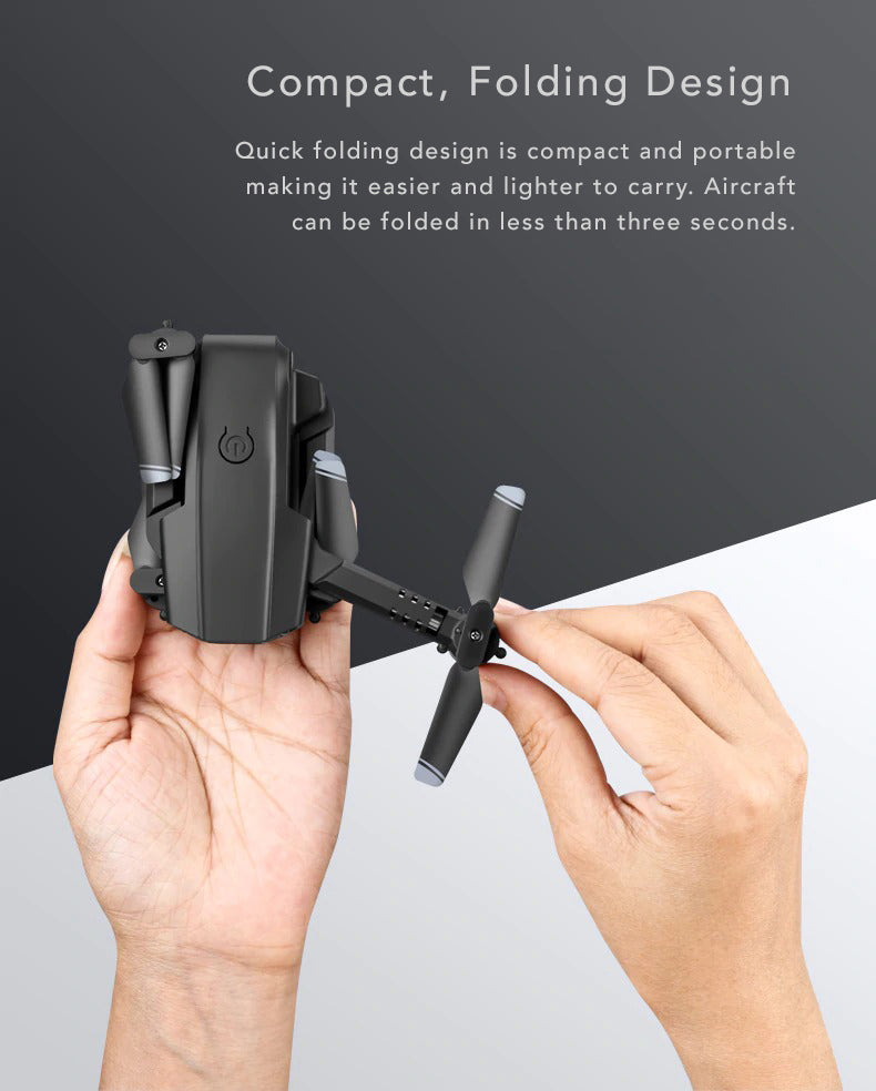 Dual Camera 4k Tactical Drone Ultra Compact Portable Folding Design
