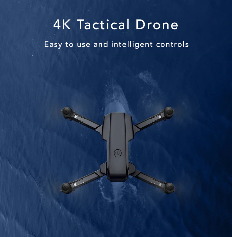 Dual Camera 4k Tactical Drone Powerful Mini Drone Easy To Use Intelligent Controls