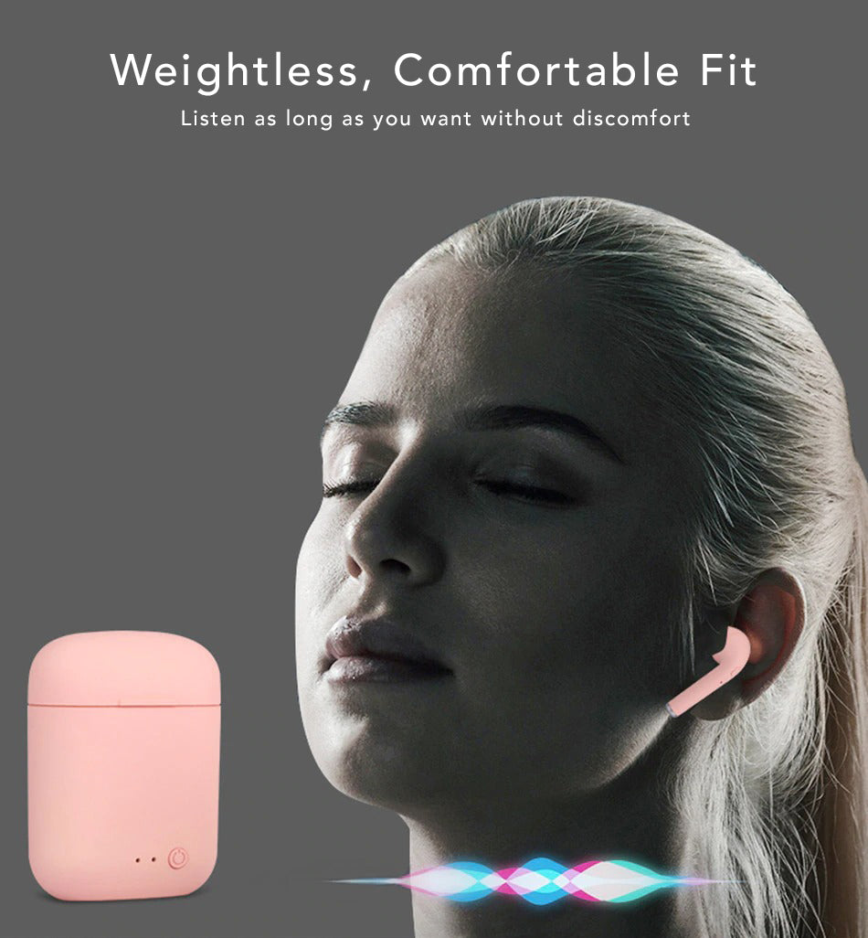 Karma Bluetooth Wireless Earbuds Wireless Audio Weightless Comfortable Fit Listen Longer