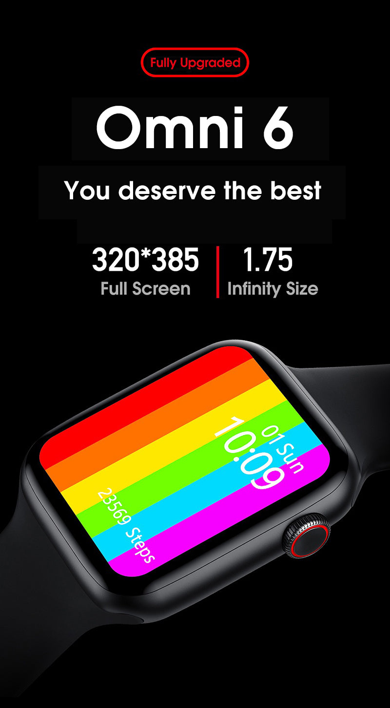 iSport 6 Smart Watch Infinity Vision Size Full Screen Super Retina Display Incredible Vibrant Graphics You Deserve The Best Most Advanced Technology