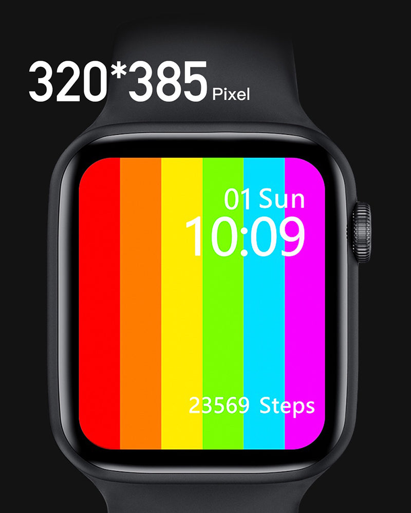 iSport 6 Smart Watch Infinity Vision Size Full Screen Super Retina Display Incredible Vibrant Graphics