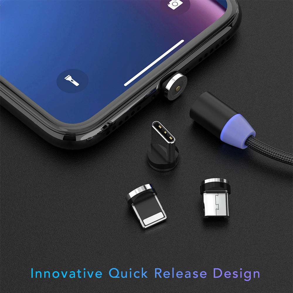 Innovative Quick Release Design Magnetic USB Charging Cable