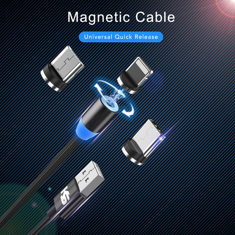 Quick Release Magnetic Charging Cable