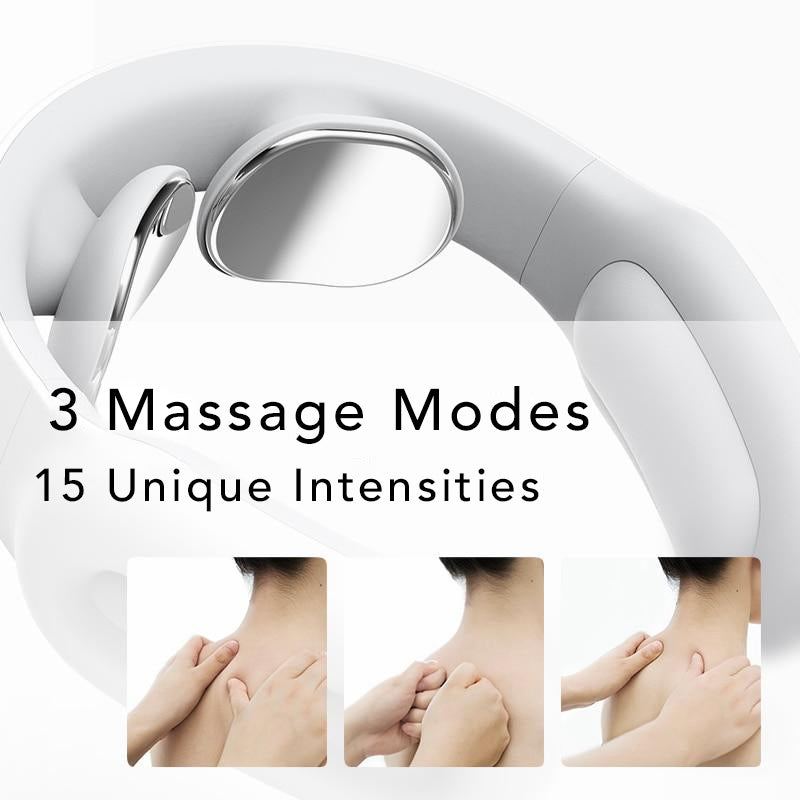 Unique Massage Modes and Intensities