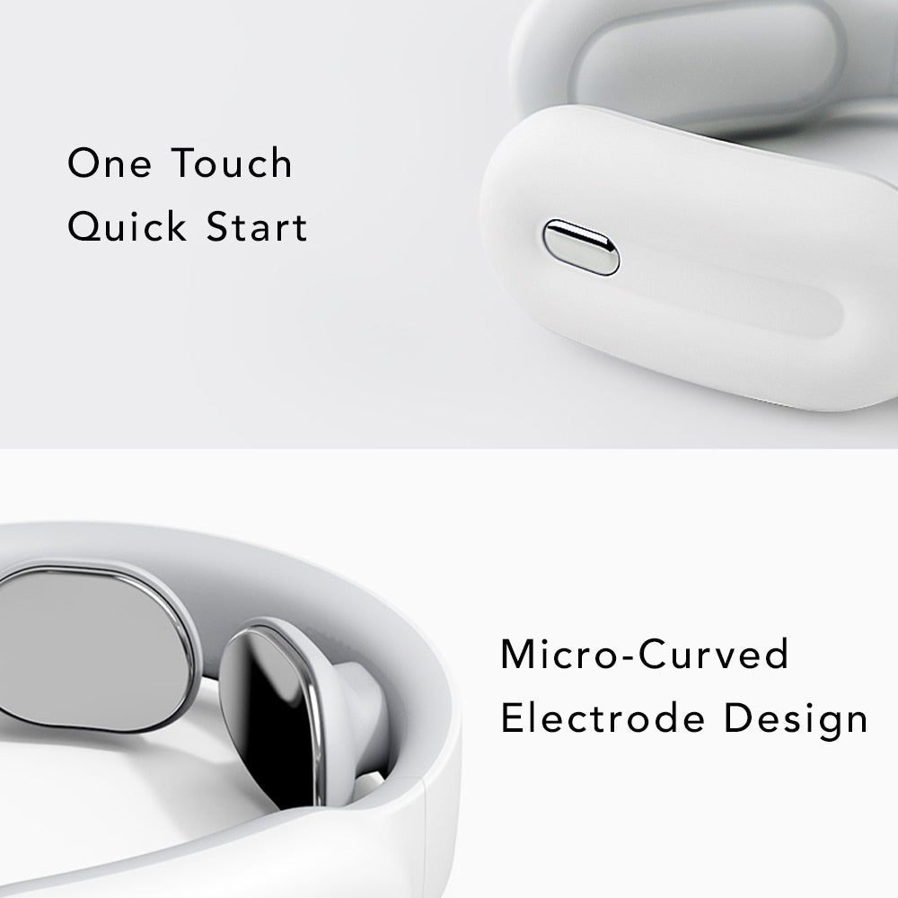 One Touch Quick Start Micro Curved Electrode Design