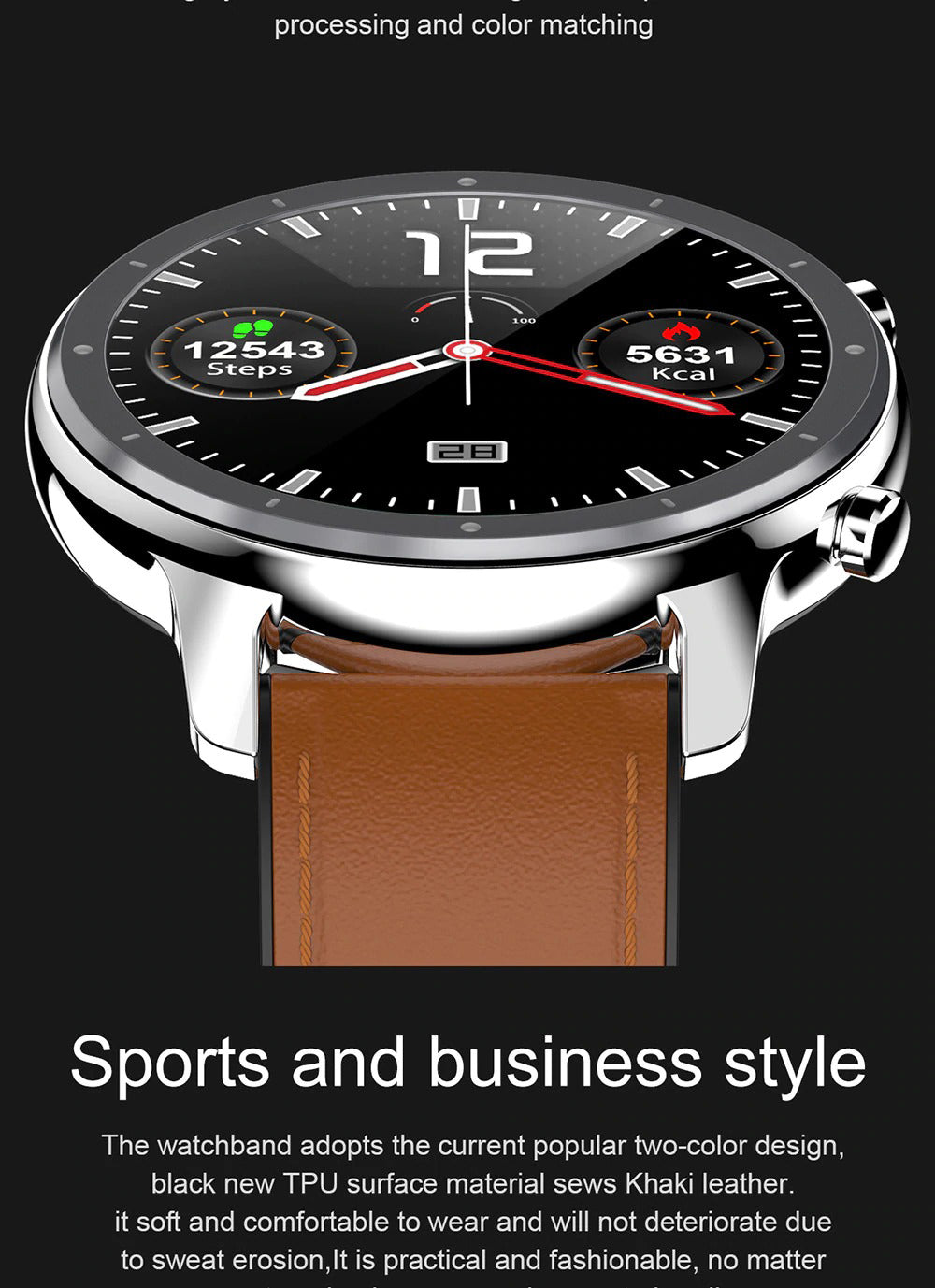 X9 Beretta Smart Watch Make Sports Business Style