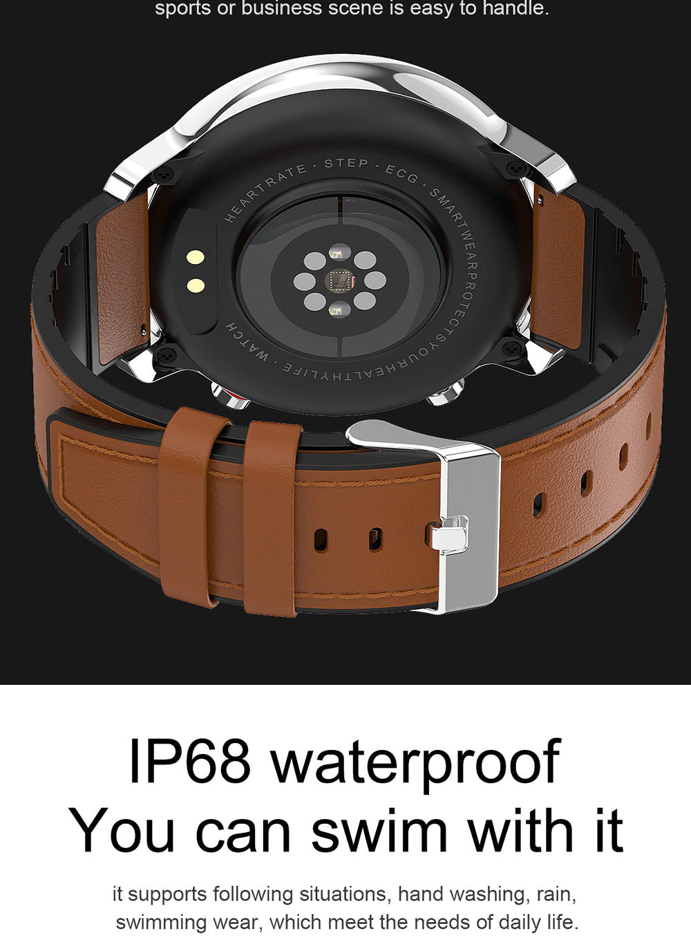 X9 Beretta Smart Watch Make IP68 Waterproof Swim
