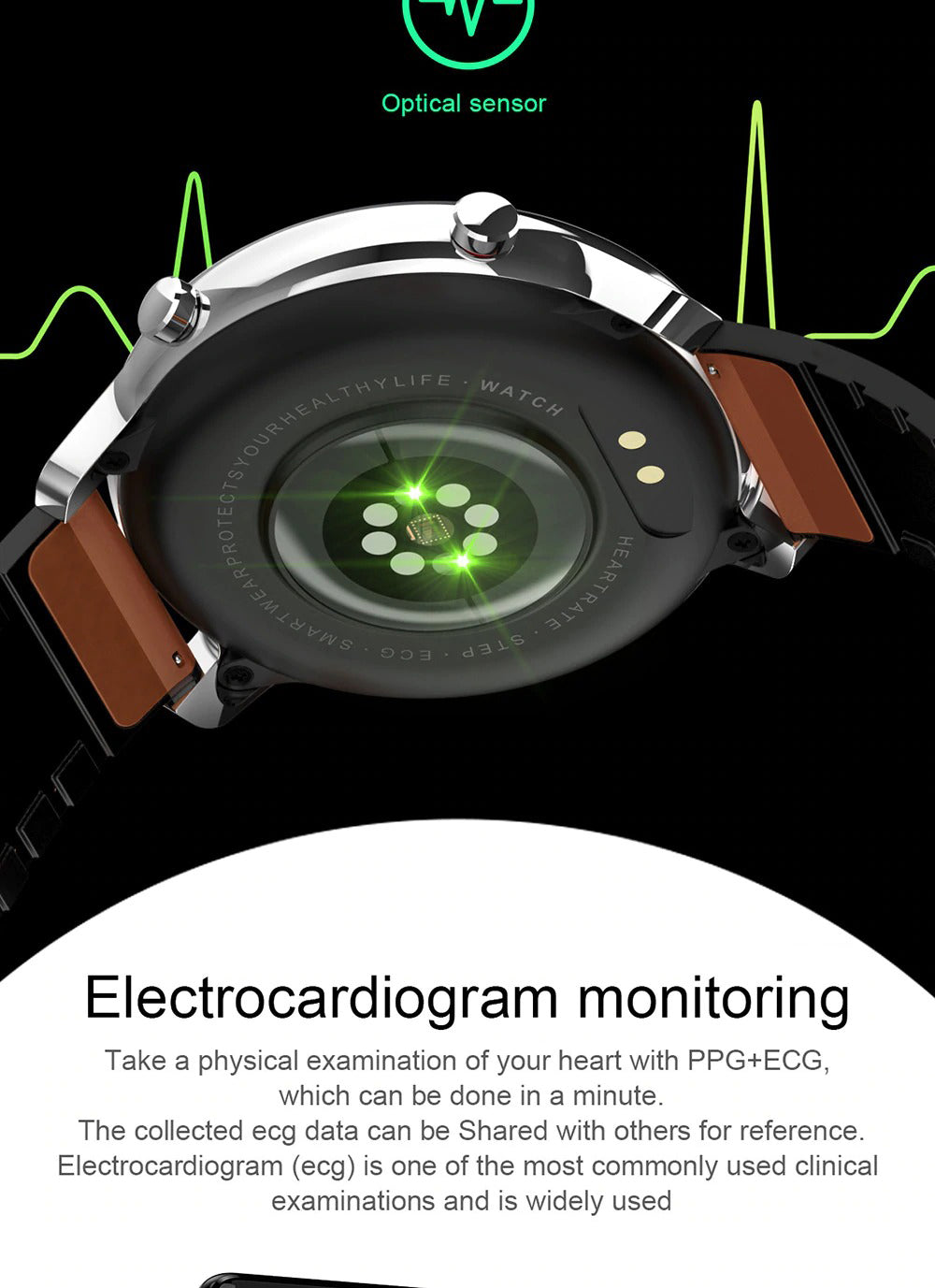 X9 Beretta Smart Watch Electrocardiogram Monitoring