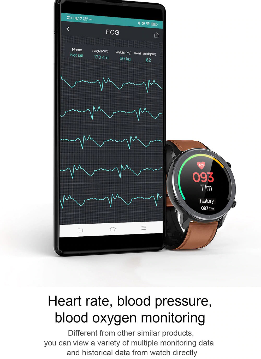 X9 Beretta Smart Watch Heart Rate Blood Pressure Blood Oxygen Monitoring