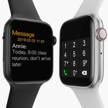 Load image into Gallery viewer, Omni Bluetooth USB Smart Watch Infinity Vision HD Super Retina Touch Screen Display Track Health Fitness Lifestyle SMS Mobile Notifications Sync Accept Place Calls