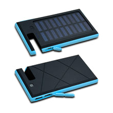 Load image into Gallery viewer, Portable Wireless Waterproof USB Solar PowerBank Battery Pack Charger iPhone Power Bank Phone Holder