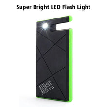 Load image into Gallery viewer, Portable Wireless Waterproof USB Solar PowerBank Battery Pack Charger iPhone Power Bank Phone Holder Super Bright LED Flash Light