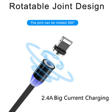 Load image into Gallery viewer, Quick Release Magnetic USB Cable