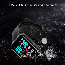 Load image into Gallery viewer, iSport Bluetooth Smart Watch SMS HD Touch Screen Sports Exercise Track Lifestyle Worry Free Always Safe Dry IP67 Waterproof Technology