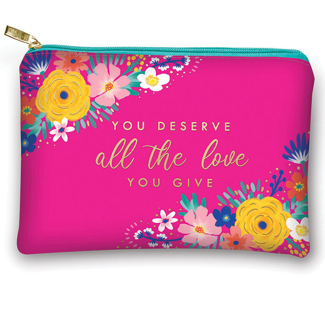 Glam Bag Happy Floral Love Pouch
