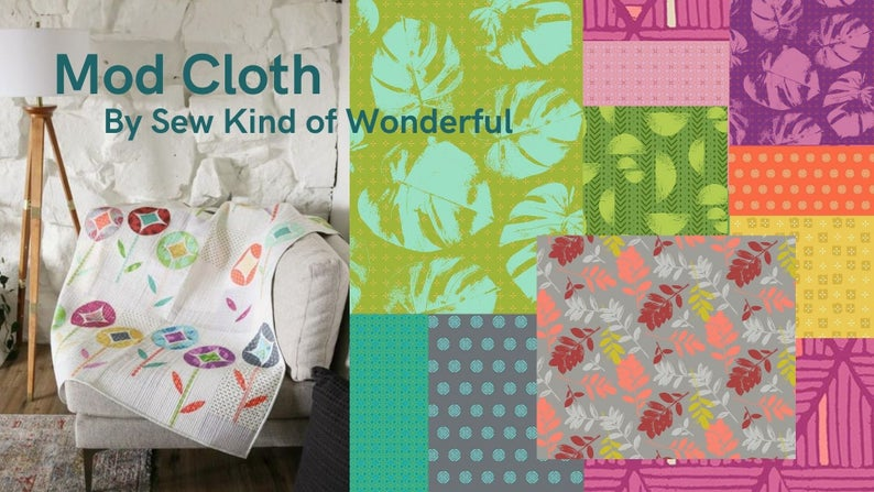 Pre-Order, Mod Cloth Fat Quarter Precut bundle