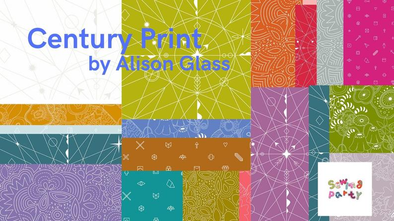 Pre-Sale, Century Print Collection Full Yard Bundle