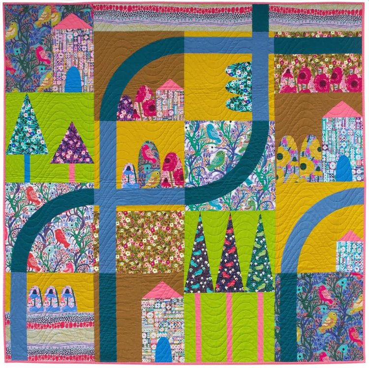Savernake Road Quilt Pattern