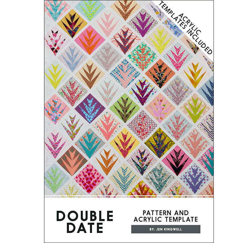 Double Date Pattern with Acrylic Template