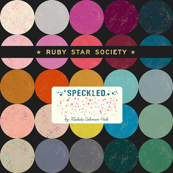 Speckled by Ruby Star Society from MODA, 30 Fat Quarters