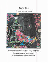 Load image into Gallery viewer, Song Bird Collage Pattern