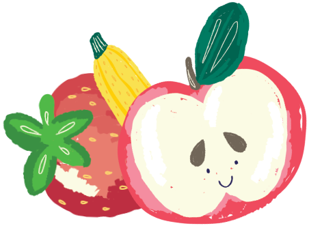 Apples Chilling Out Image