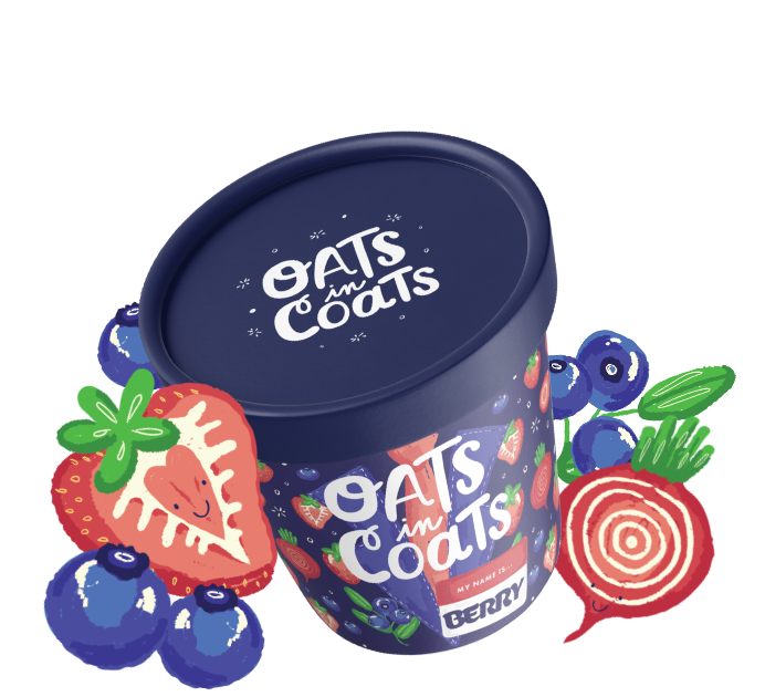 Oats in Coats Berry Image