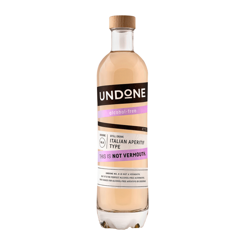 Undone NO.8 Italian Aperitif Type Not Vermouth