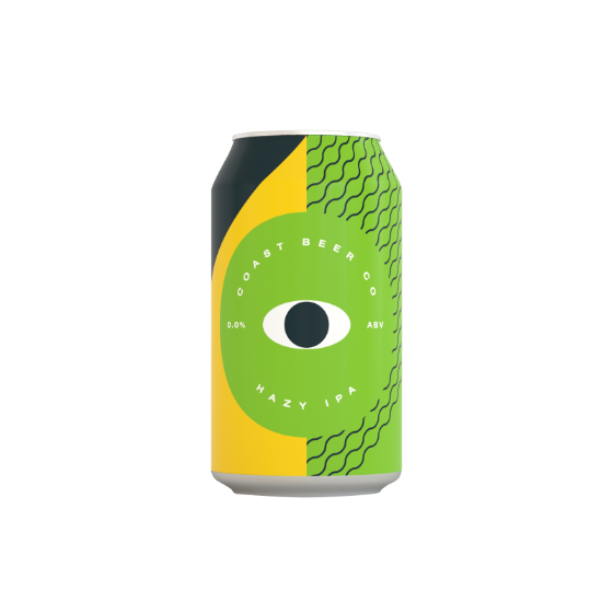 Coast Beer Co Hazy IPA 330ml alkoholfrei