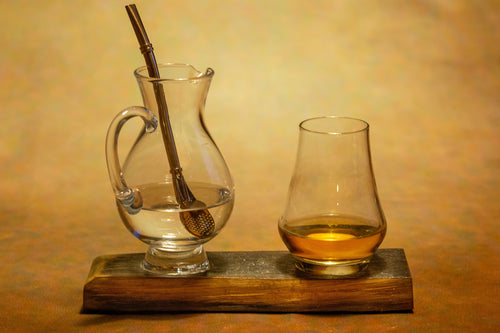 2 glass whiskey barrel flight stave.  Whisky Gifts and Accessories