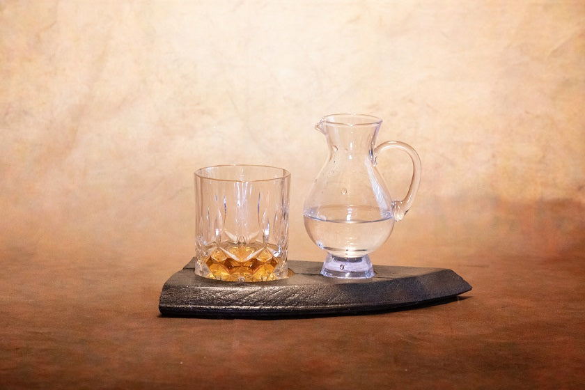 2 Glass Whisky Board