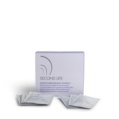 Second Life Brightening Synergy - Two Phase Glycolic Acid & Enzymatic Peel - Naturalia Sintesi UK