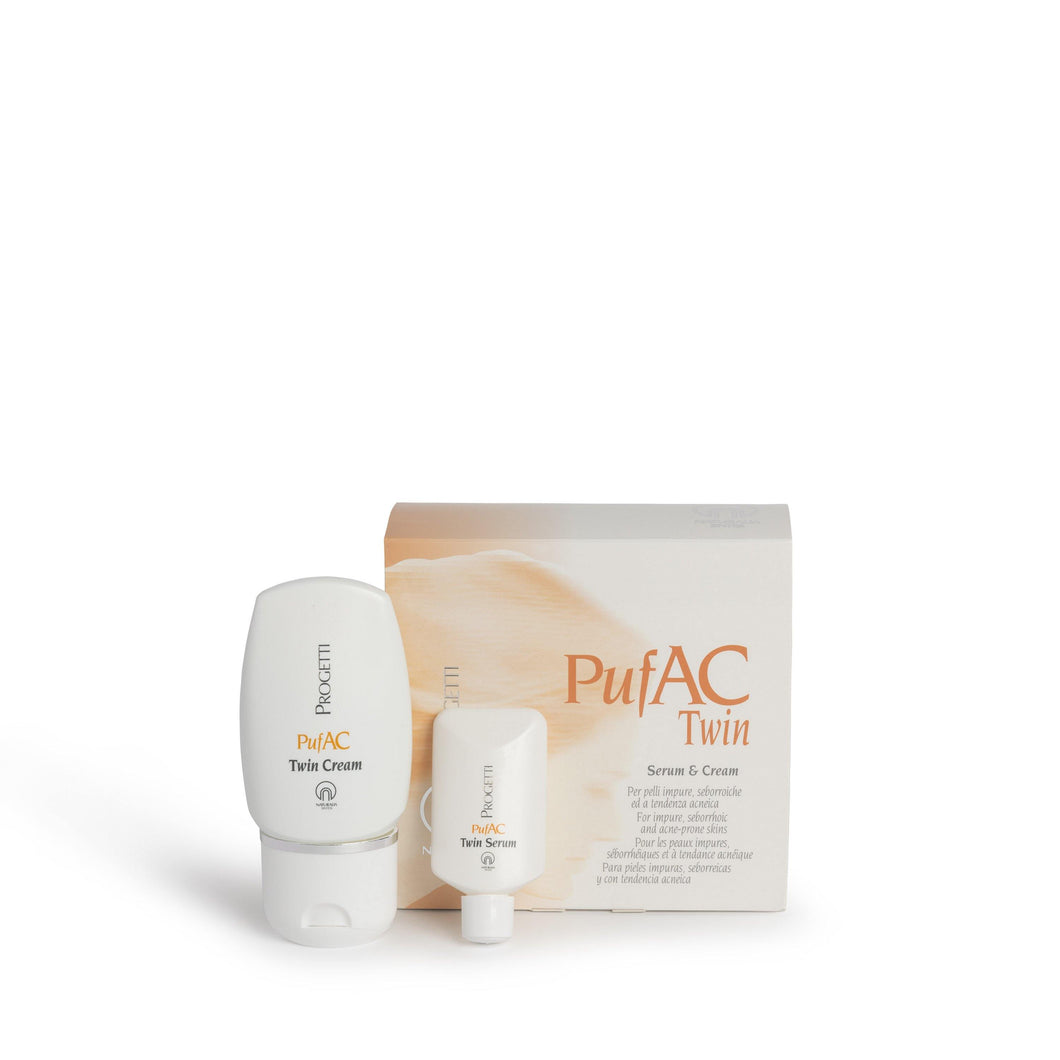 Pufac Twin Serum & Cream - for Oily and Acne-Prone Skin - Naturalia Sintesi UK