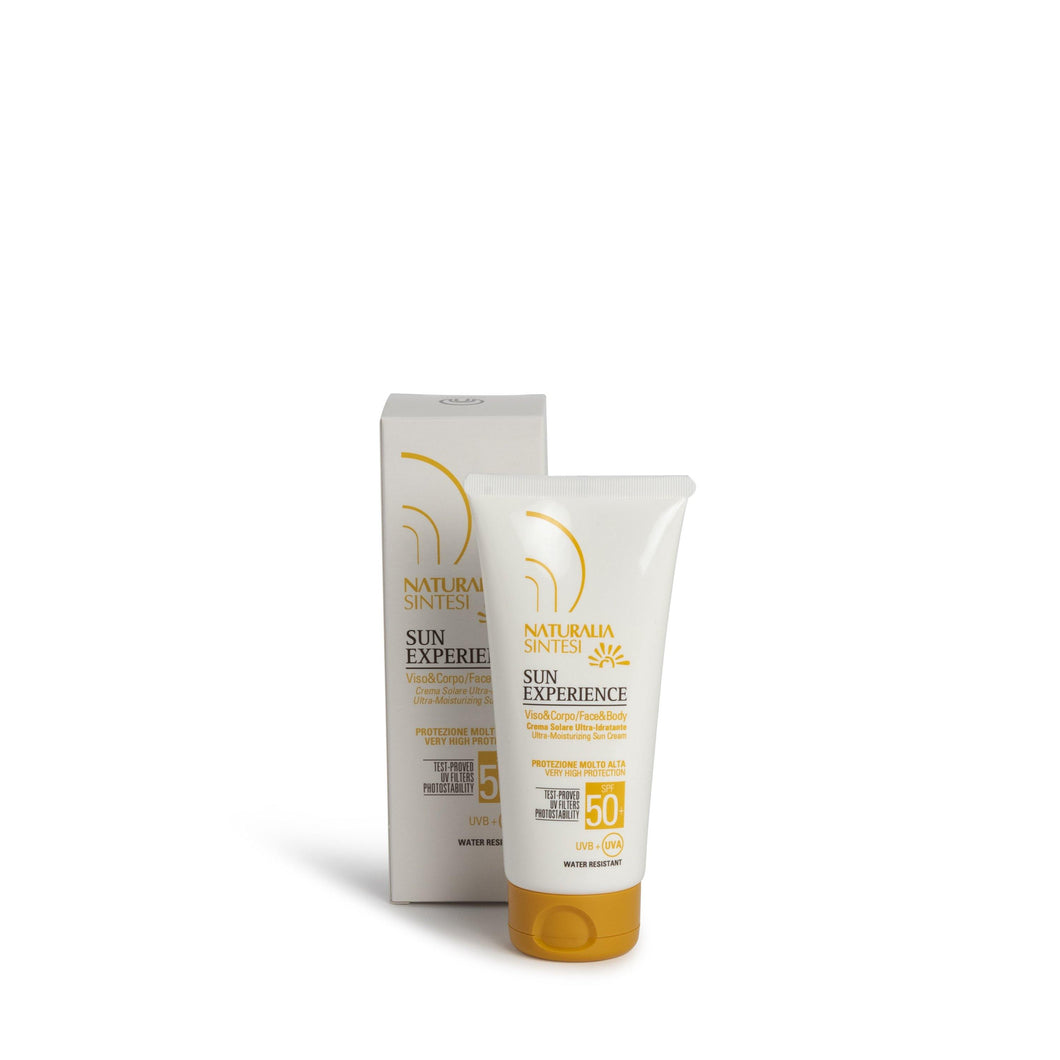 Sun Experience SPF 50+ - Ultra Moisturising Sunscreen - Naturalia Sintesi UK