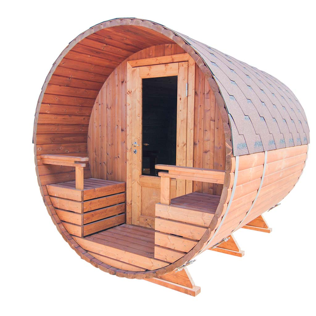 Outdoor Barrel Sauna 240 Kit