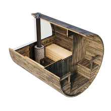Load image into Gallery viewer, Outdoor Barrel Sauna 240 Kit