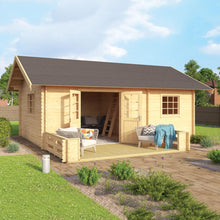 Load image into Gallery viewer, Cabin Caroline 317 Sq.Ft Loft Model