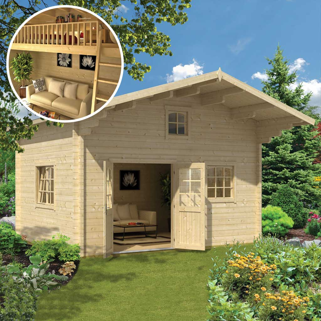Cabin Zanzibar 284 Sq.Ft Loft model