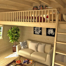 Load image into Gallery viewer, Cabin Zanzibar 284 Sq.Ft Loft model