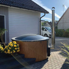 Load image into Gallery viewer, Wood Fired Hot Tub 180 Deluxe