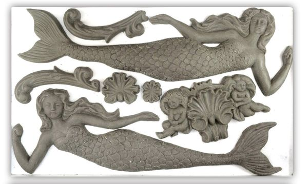 IRON ORCHID DESIGN SEA SISTERS MOULD