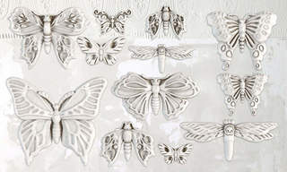 IRON ORCHID DESIGN BUTTERFLIES MOULD