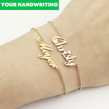 Load image into Gallery viewer, Signature Names Bracelet - One Of One Jewellery