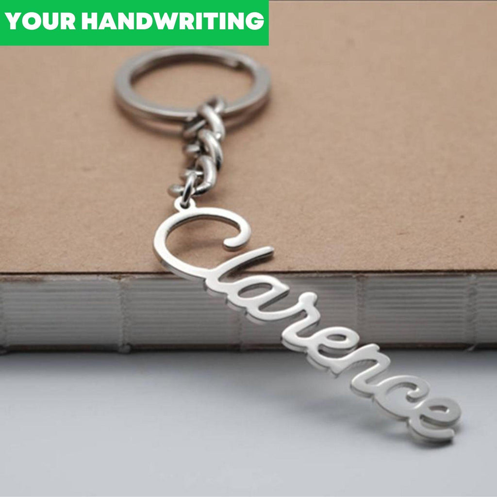 Signature Names Keychain - One Of One Jewellery