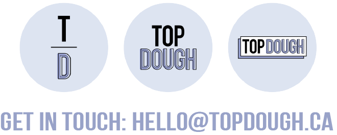 contact email top dough Toronto cookie dough dessert bliss bluff catering hana farrah twins