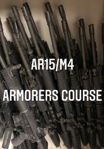 June 12/13, TCOLE AR15 Armorer's Course #4018