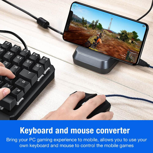 Mobile Gamepad Keyboard Mouse Converter